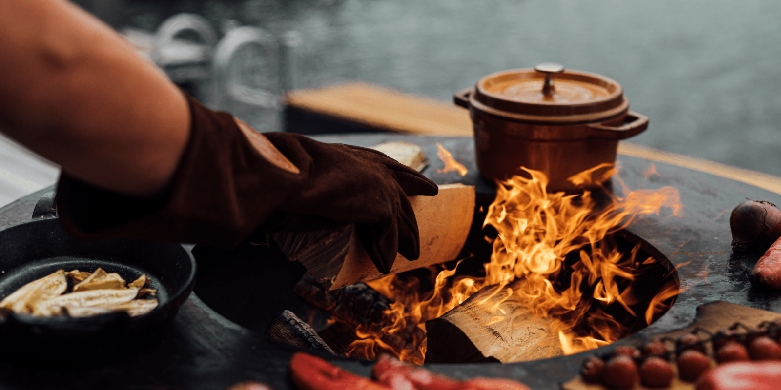 Outdoor cooking is more than grilling
